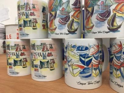 cinque terre design mug
